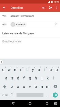 Huawei Nexus 6P - Android Oreo - E-mail - e-mail versturen - Stap 7