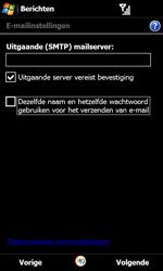 Samsung I8000 Omnia II - E-mail - Handmatig instellen - Stap 13