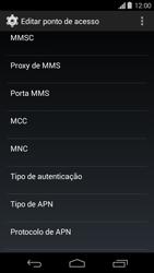 Motorola Moto G - Internet (APN) - Como configurar a internet do seu aparelho (APN Nextel) - Etapa 12