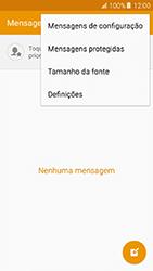 Samsung Galaxy A5 (2016) (A510F) - SMS - Como configurar o centro de mensagens -  5