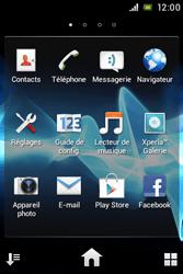 Sony ST21i Xperia Tipo - E-mail - Configuration manuelle - Étape 3