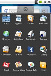 Samsung Galaxy Spica (GT-i5700) - Internet - Handmatig instellen - Stap 13