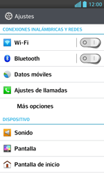 LG Optimus L5 II - WiFi - Conectarse a una red WiFi - Paso 4