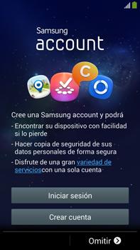 Samsung Galaxy Note 3 - Primeros pasos - Activar el equipo - Paso 8