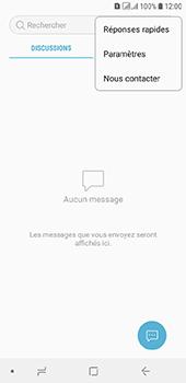 Samsung Galaxy A6 - SMS - configuration manuelle - Étape 5
