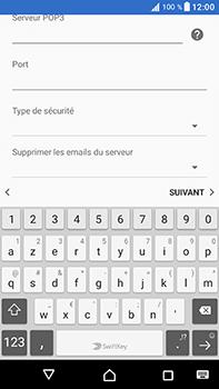 Sony Xperia XA1 Ultra - E-mails - Ajouter ou modifier un compte e-mail - Étape 14