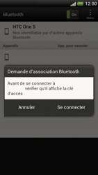 HTC Z520e One S - Bluetooth - connexion Bluetooth - Étape 10
