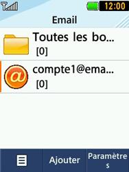 LG T580 - E-mails - Ajouter ou modifier un compte e-mail - Étape 15
