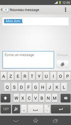Sony Xpéria M2 - Contact, Appels, SMS/MMS - Envoyer un SMS - Étape 7