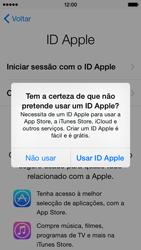Apple iPhone 5s iOS 8 - Primeiros passos - Como ligar o telemóvel pela primeira vez -  15