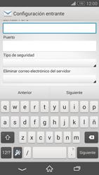 Sony Xperia Z3 - E-mail - Configurar correo electrónico - Paso 9