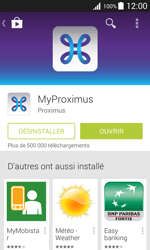 Samsung Galaxy Xcover 3 (G388F) - Applications - MyProximus - Étape 10