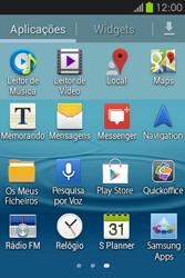 Samsung Galaxy Fame - SMS - Como configurar o centro de mensagens -  3