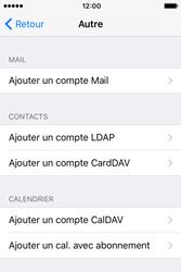 Apple iPhone 4 S iOS 9 - E-mail - Configuration manuelle - Étape 6
