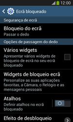 Samsung Galaxy Ace 3 LTE - Segurança - Como ativar o código de bloqueio do ecrã -  6