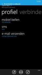 Nokia Lumia 930 4G (Type RM-1045) - Contacten en data - Contacten overzetten via Bluetooth - Stap 11