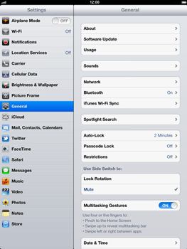 Apple The New iPad - Network - Usage across the border - Step 3