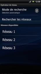Sony Ericsson Xperia Ray - Réseau - utilisation à l'étranger - Étape 11