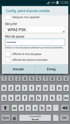Samsung Galaxy A5 (A500FU) - Internet et connexion - Partager votre connexion en Wi-Fi - Étape 9
