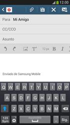 Samsung Galaxy S4 Mini - E-mail - Escribir y enviar un correo electrónico - Paso 8