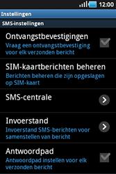 Samsung S5830 Galaxy Ace - SMS - handmatig instellen - Stap 4