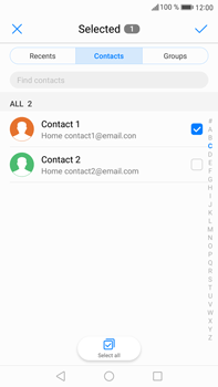 Huawei Mate 9 - Email - Sending an email message - Step 6