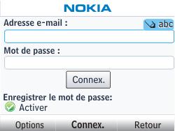 Nokia Asha 302 - E-mail - Configuration manuelle - Étape 5