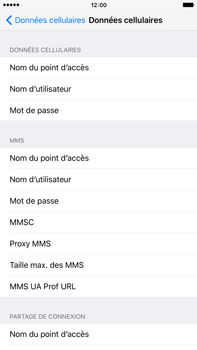 Apple iPhone 6 Plus iOS 9 - MMS - Configuration manuelle - Étape 7