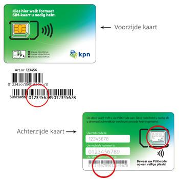 Apple iPhone 8 (Model A1905) - Nieuw KPN Mobiel-abonnement? - In gebruik nemen nieuwe SIM-kaart (bestaande klant) - Stap 4