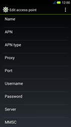 Acer Liquid E3 - MMS - Manual configuration - Step 11
