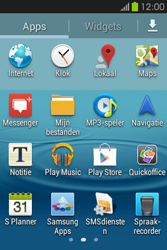 Samsung S6810P Galaxy Fame - Internet - Hoe te internetten - Stap 2