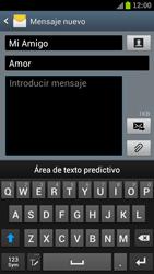 Samsung I9300 Galaxy S III - Mensajería - Escribir y enviar un mensaje multimedia - Paso 11
