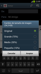 Samsung I9300 Galaxy S III - E-mail - Escribir y enviar un correo electrónico - Paso 12