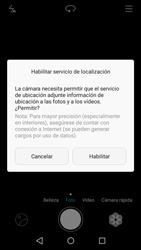 Huawei Y5 II - Funciones básicas - Uso de la camára - Paso 3