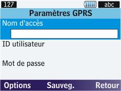 Samsung S3570 Chat 357 - Internet - Configuration manuelle - Étape 12