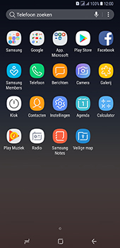 Samsung Galaxy A8 Plus - E-mail - handmatig instellen - Stap 3