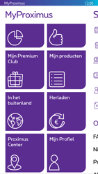 Nokia Lumia 830 - Applicaties - MyProximus - Stap 21