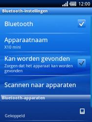 Sony Ericsson Xperia X10 Mini Pro - Bluetooth - Headset, carkit verbinding - Stap 9