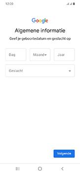 Samsung galaxy-a20e-dual-sim-sm-a202f - Applicaties - Account aanmaken - Stap 8