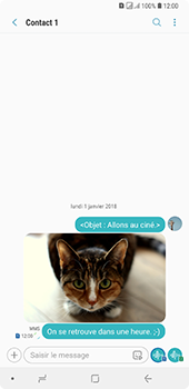 Samsung Galaxy A7 (2018) - MMS - envoi d'images - Étape 21