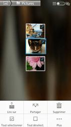 Sony Xpéria S - Photos, vidéos, musique - Envoyer une photo via Bluetooth - Étape 8