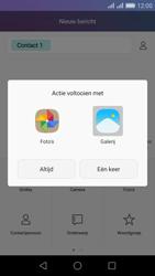 Huawei Honor 5X - MMS - Afbeeldingen verzenden - Stap 14