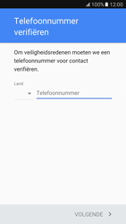 Samsung Galaxy S7 (G930) - Applicaties - Account aanmaken - Stap 7