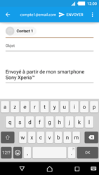 Sony Xperia M4 Aqua - E-mails - Envoyer un e-mail - Étape 7