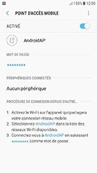 Samsung Galaxy J5 (2017) - Internet et connexion - Partager votre connexion en Wi-Fi - Étape 12