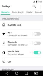 LG K4 2017 - WiFi and Bluetooth - Manual configuration - Step 3