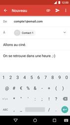 Motorola Moto G 3rd Gen. (2015) - E-mail - envoyer un e-mail - Étape 10