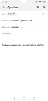 Huawei mate-20-dual-sim-hma-l29 - E-mail - Bericht met attachment versturen - Stap 7