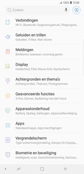 Samsung Galaxy Note9 - Netwerk - Wijzig netwerkmodus - Stap 4