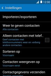 Samsung Galaxy Young2 (SM-G130HN) - Contacten en data - Contacten kopiëren van toestel naar SIM - Stap 7